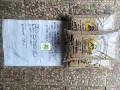 Benih Padi Pesanan    ARIF BUDI AFRIAN OKU Timur, Sumsel.    (Sebelum di Packing).