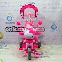 nakami hello kitty lisensi tricycle