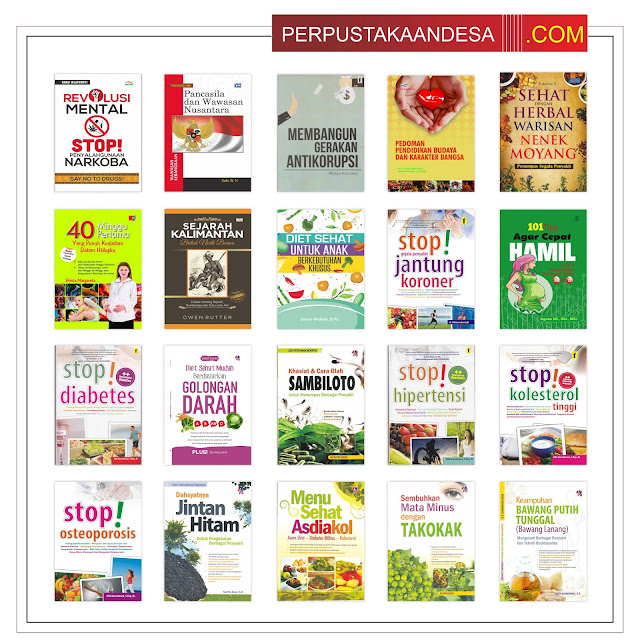 Contoh RAB Pengadaan Buku Desa Kabupaten Bombana Provinsi Sulawesi Tenggara Paket 100 Juta