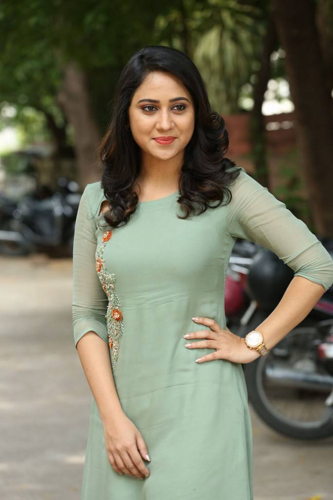 Miya George At Ungarala Rambabu Movie Interview Stills