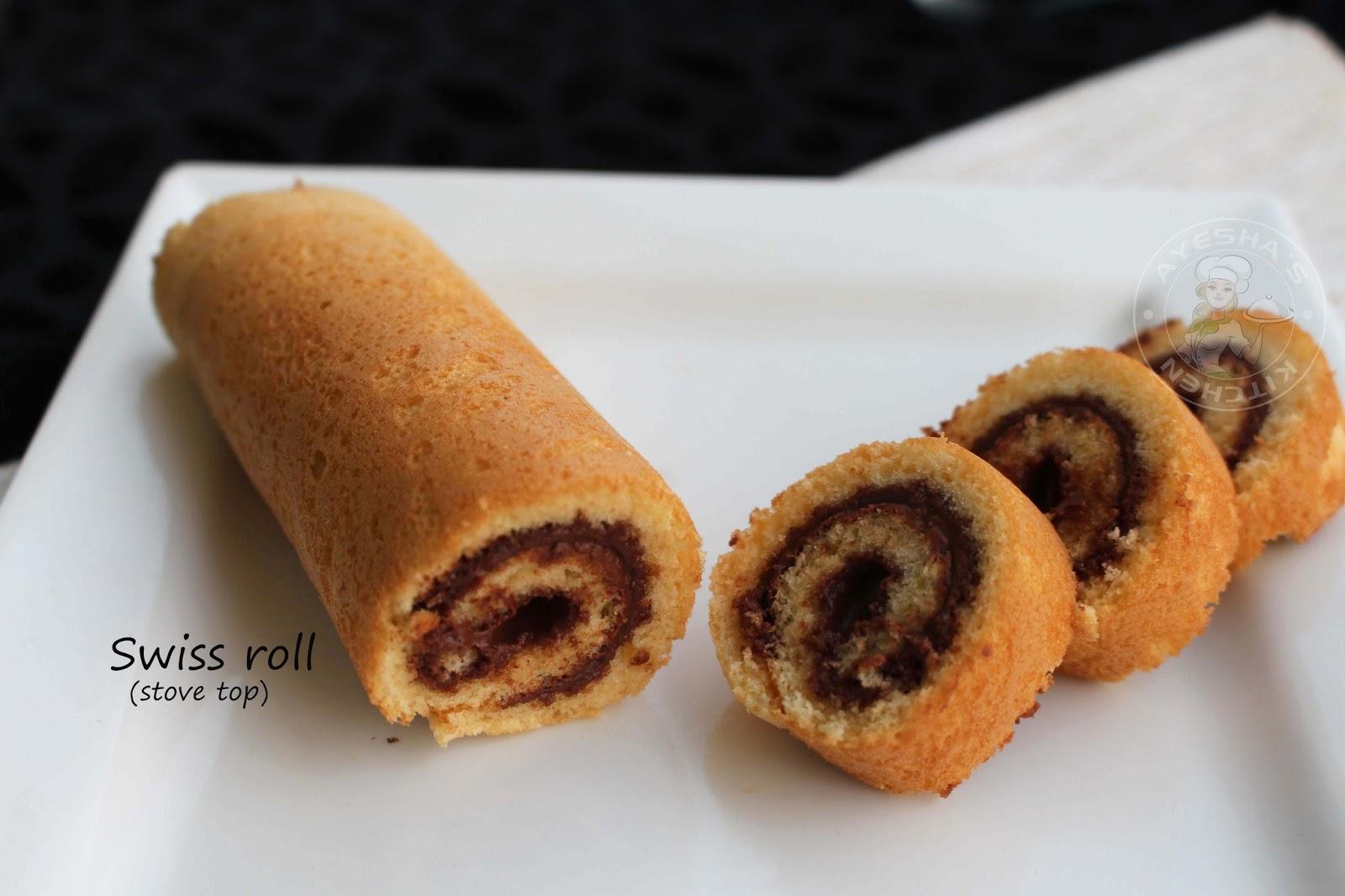 Easy Swiss Roll Cake Recipe