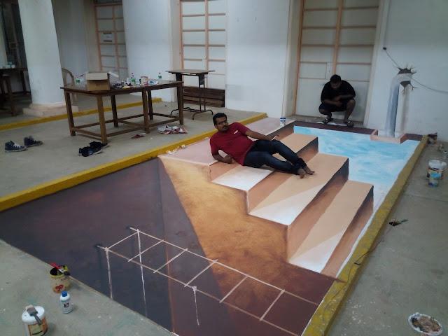 3D street Artist Thailand, 3D street painter Japan, 3D street Artist Poland, 3D street Artist Ukrain