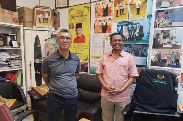Menteri Keuangan Malaysia kunjungi Ketua Melayu Aceh