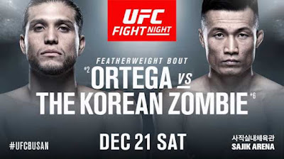 UFC ON ESPN+ 23 - Brian Ortega Vs Chan Sung Jung