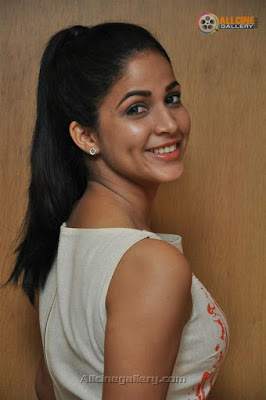 Lavanya Tripathi ponytail hairstyle
