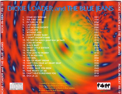 Dickie Loader&The Blue Jeans - Come go with Me /Sea of Heartbreak