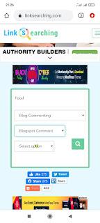 Menggunakan fitur LinkSearching untuk mencari backlink berkualitas dan gratis