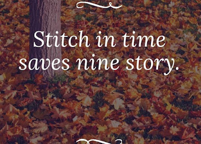 What does a stitch in time saves nine mean?