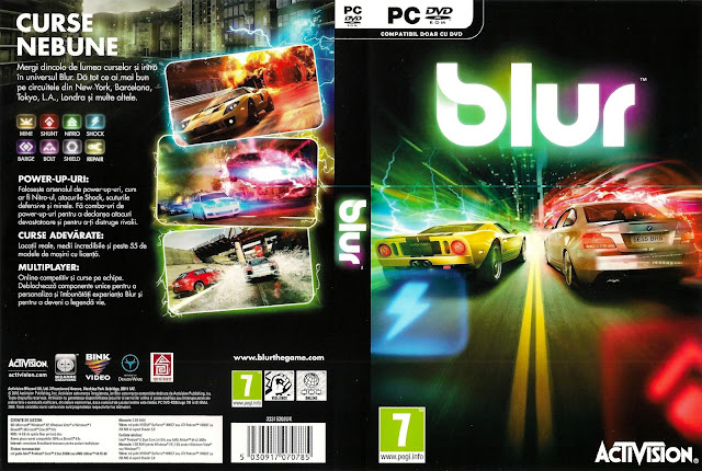 Download Game Blur - The Vide Game Full Version iso For PC