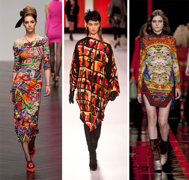 Top Fashion Trends For Early Fall 2014: Artistic, Visually