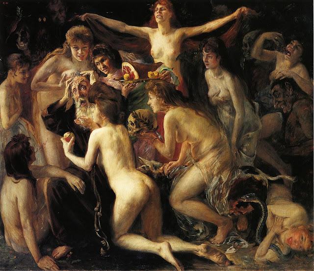 The Temptation of Saint Anthony by Lovis Corinth (1897)