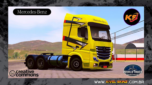 NEW ACTROS - YELLOW EDITION