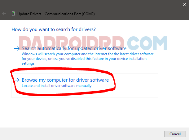 Cara agar Android Port terbaca QDLoader  Cara agar Port USB terbaca QDLoader 9008 untuk Fastboot Android