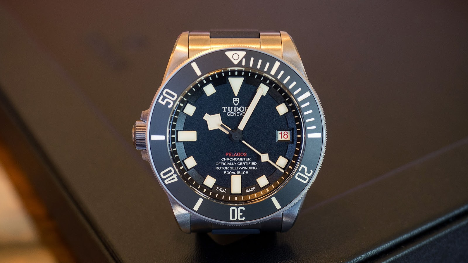 dbade84c202 The Tudor Pelagos LHD is a very specific kind of watch  LHD stands for