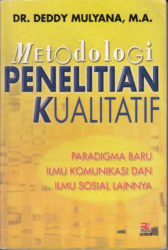 Jual Buku Metodologi Penelitian Kualitatif | Toko Cinta Buku