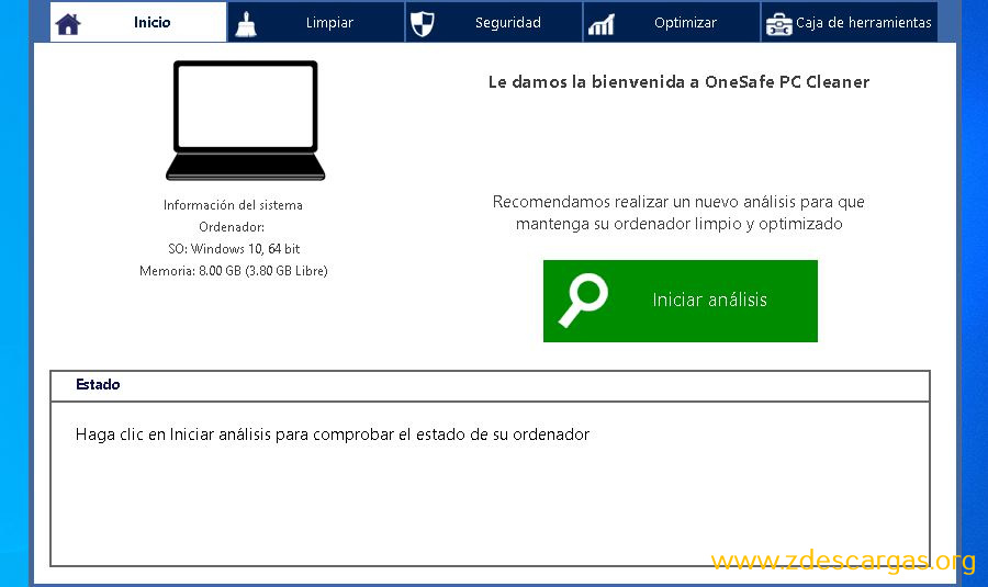 OneSafe PC Cleaner Pro Full Español