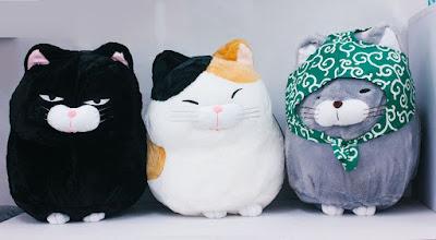 thú nhồi bông Nhật Bản 1