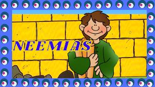 Neemias reconstruiu o muro de Jerusalém