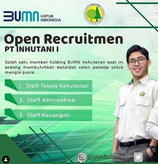 Open Recruitmen PT Inhutani I