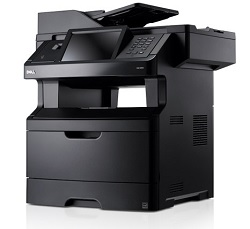Getting the IP address of your networked Dell 3333dn printer