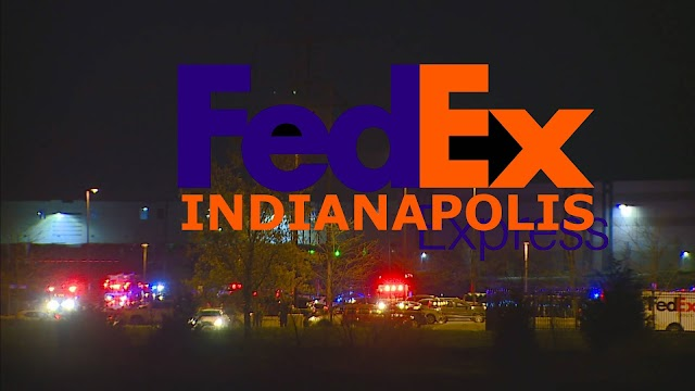 """Shooting  occured at FedEX's facility point creates a """"mass casualty situation"""" at 8951 Mirabel Road in Indianapolis,Indiana"""