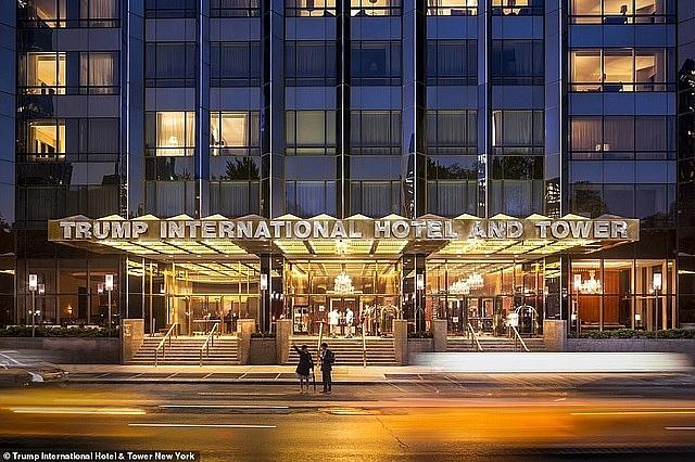 Mr. Trump's hotel ranks best in the world