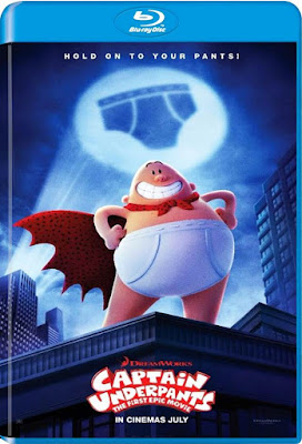 Captain Underpants The First Epic Movie 2017 BD25 Latino
