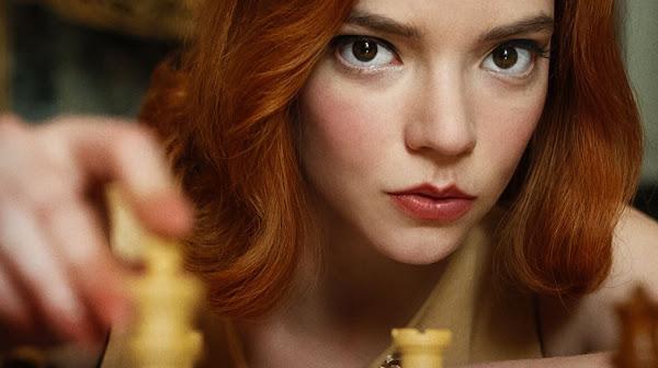 The Queen's Gambit da Netflix é qualquer coisa!