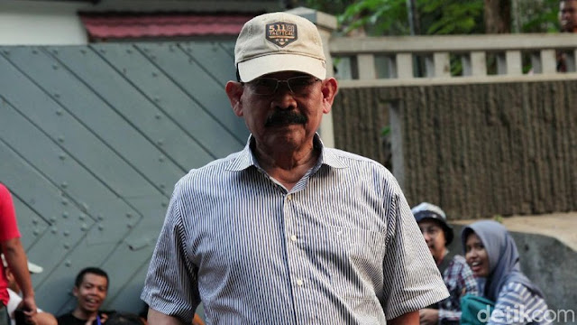 Eks Danjen Kopassus Soenarko Sambangi Kediaman Prabowo, Ada Apa?