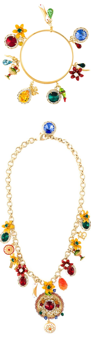 DOLCE & GABBANA Necklace and Bracelet