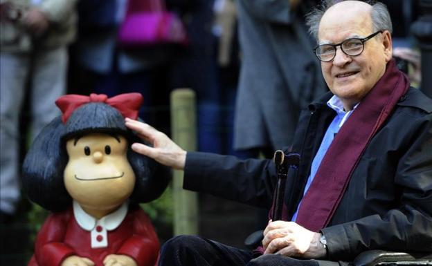 Fallece el gran Quino, el creador de Mafalda