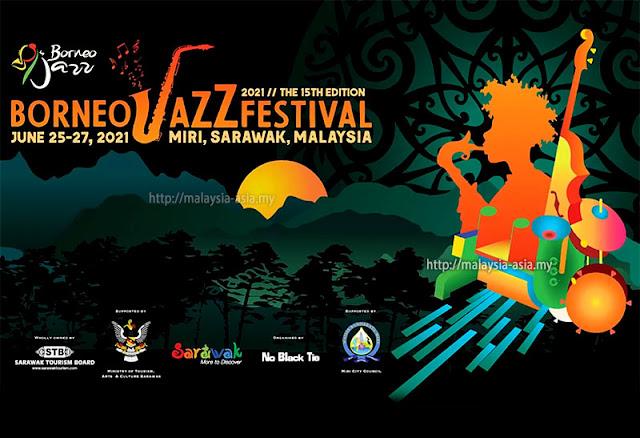 2021 Borneo Jazz Festival Virtual Journey