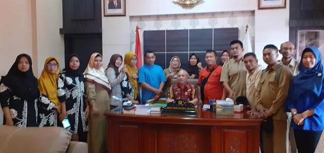 Dukungan Penuh Pejabat Pemerintah Bangka Belitung kepada GTKHNK+35 BABEL Guna Menggapainya KEPPRES PNS