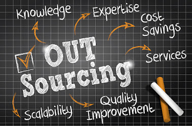 Outsourcing for support and management