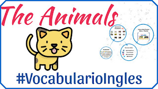 Vocabulario de los animales en inglés con imágenes