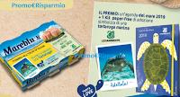 Logo ''Mareblu per TartaLove'': vinci 227 kit Agenda e adozione Tartaruga marina