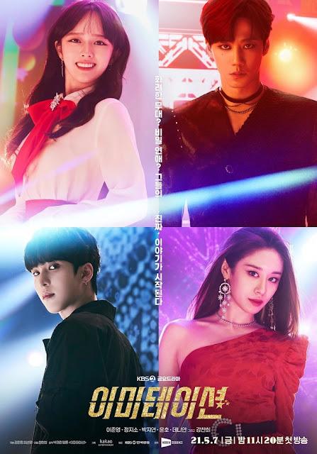 Review dan sinopsis drama Imitation ATEEZ, SF9, G.O.D, T. Ara