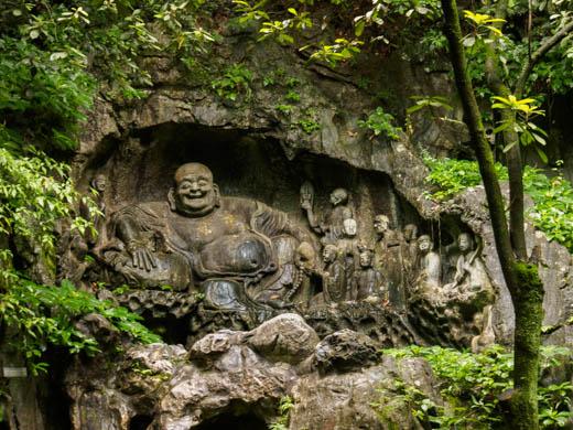 Enderle travel stone carvings of flying peak