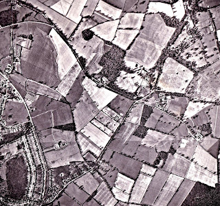 Image 9: Photograph taken March 15, 1961 Aerial photograph of North Mymms from the Peter Miller Collection