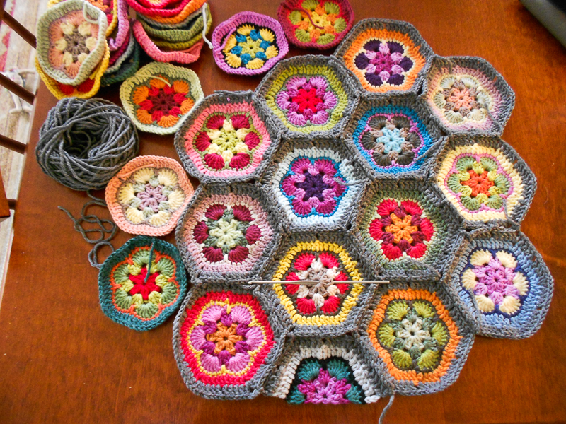Crocheted African Flower Bag Mybearpaw Blog By Jo Avery