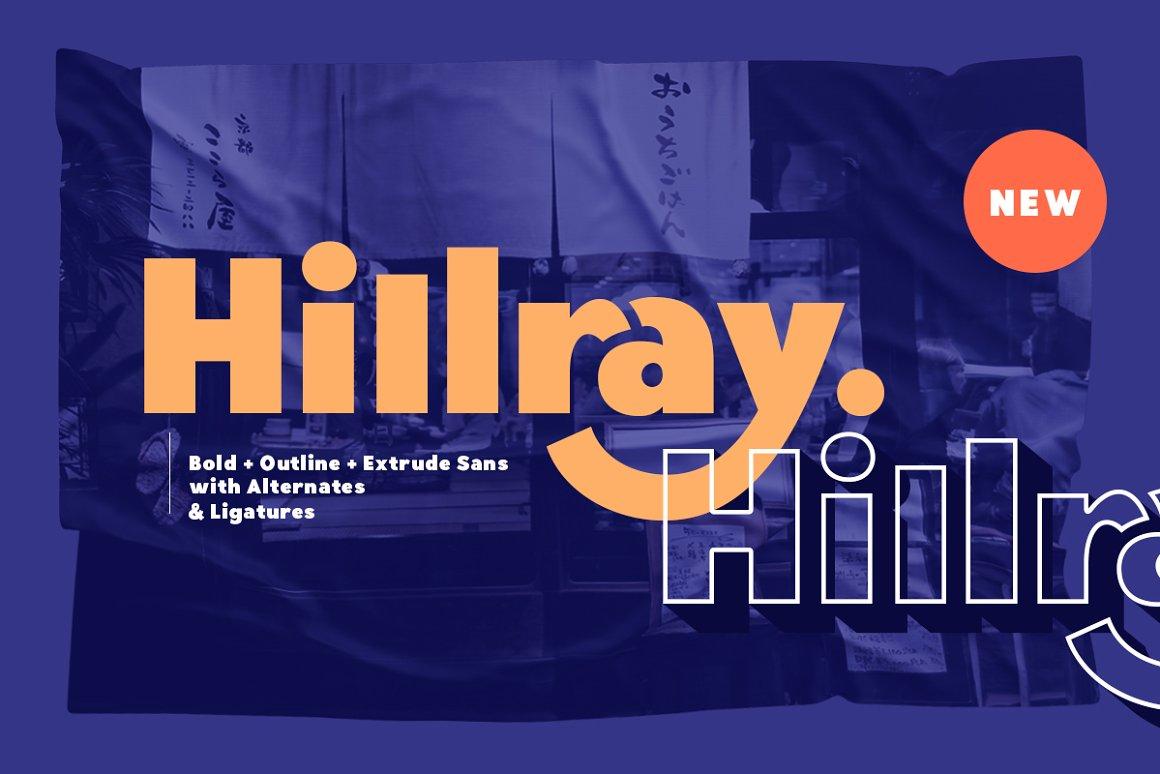 Hillray Font - Free Sans Serif Typeface