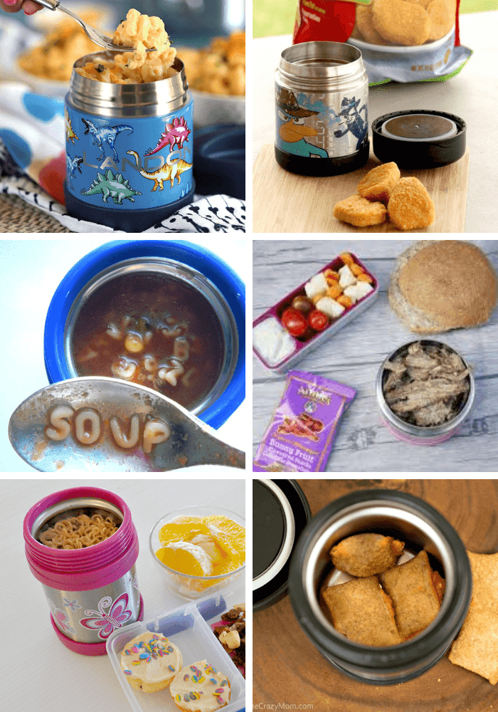 Thermos lunch ideas for kids - great hacks for winter time school lunches