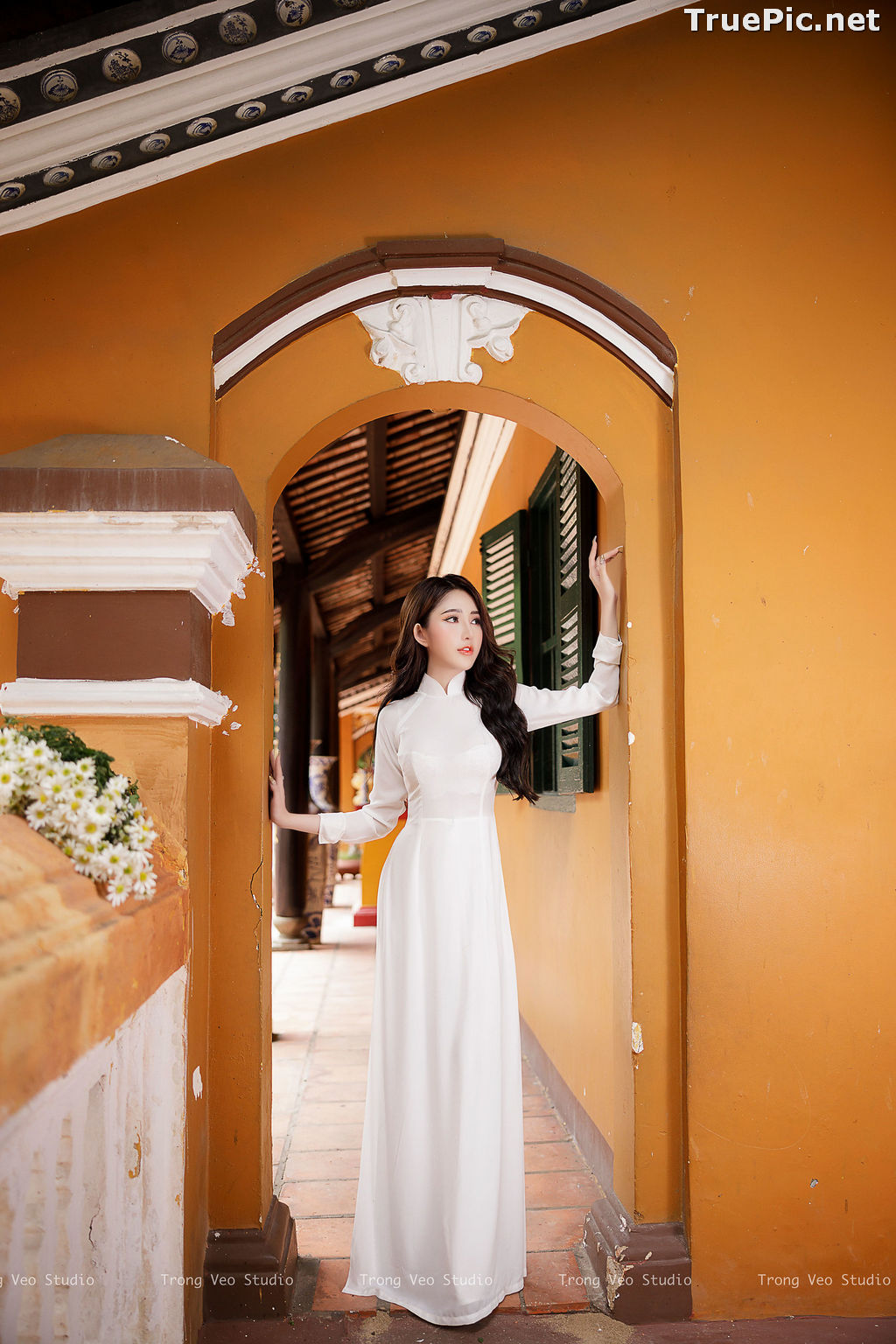 Image The Beauty of Vietnamese Girls with Traditional Dress (Ao Dai) #3 - TruePic.net - Picture-7