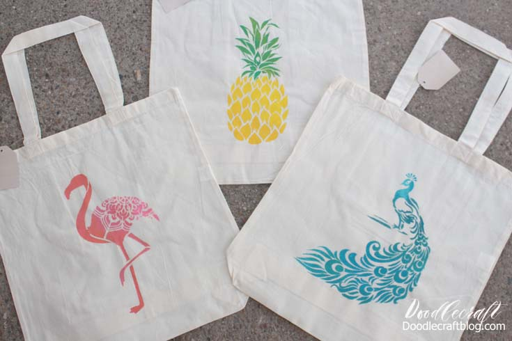 I love the tropical vibe. I could live at the beach with my feet in the sand. So I picked some stencils with the beachy vibe to them...plus I love peacocks!