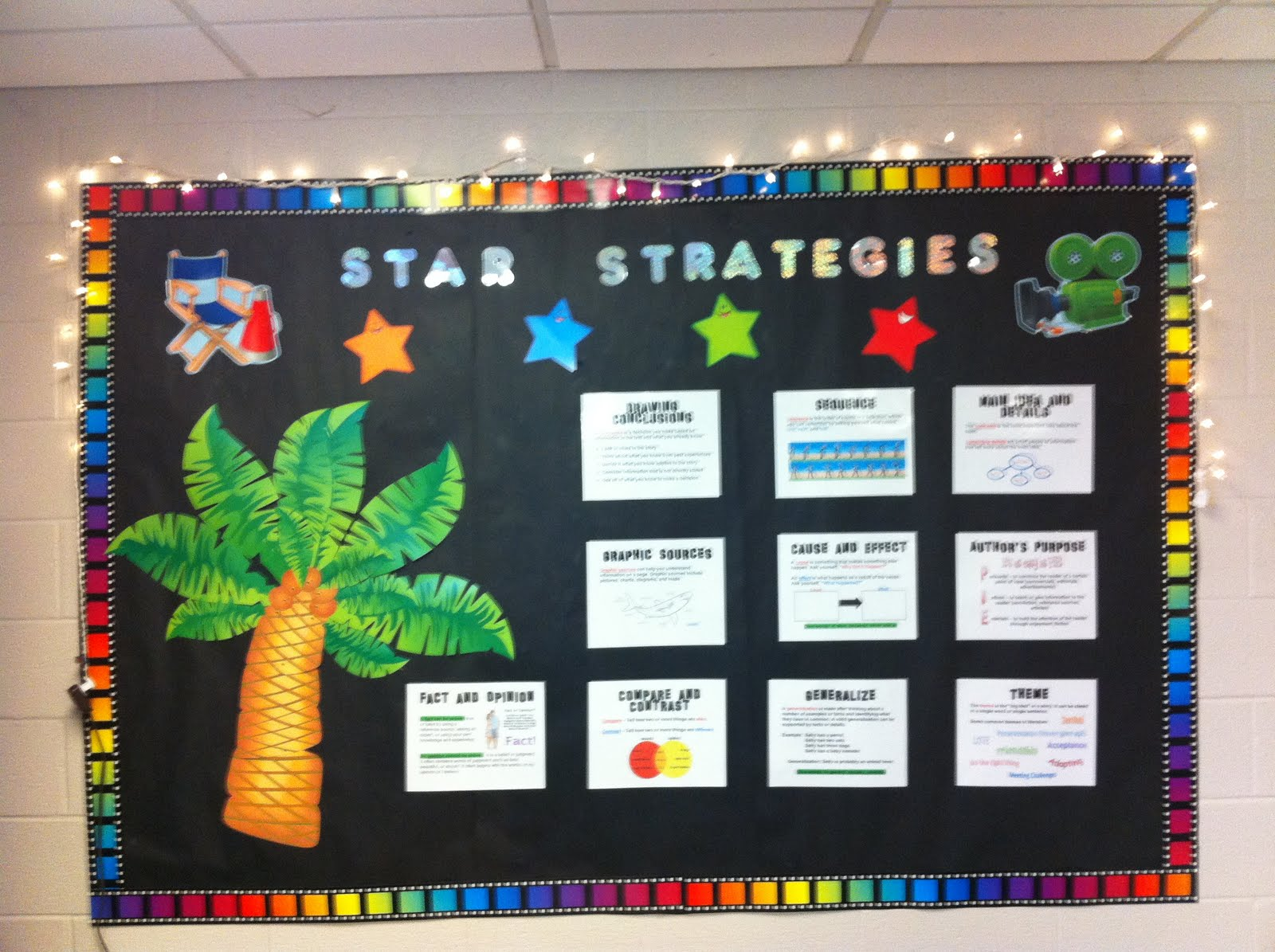 comprehension strategy posters tales of a fifth grade