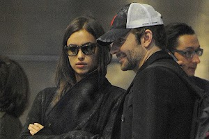 Bradley Cooper and Irina Shayk flew to Paris