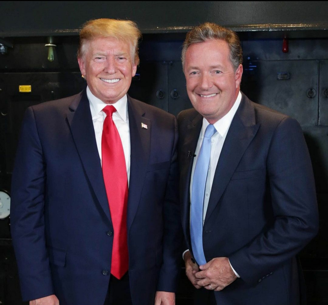 """""""Shame On You"""" - Piers Morgan Blasts Donald Trump On His Final Day As The US President"""