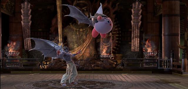 Kazuya Kirby Devil Power gene wings Super Smash Bros. Ultimate official
