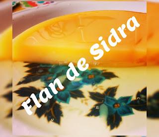 Flan De Sidra