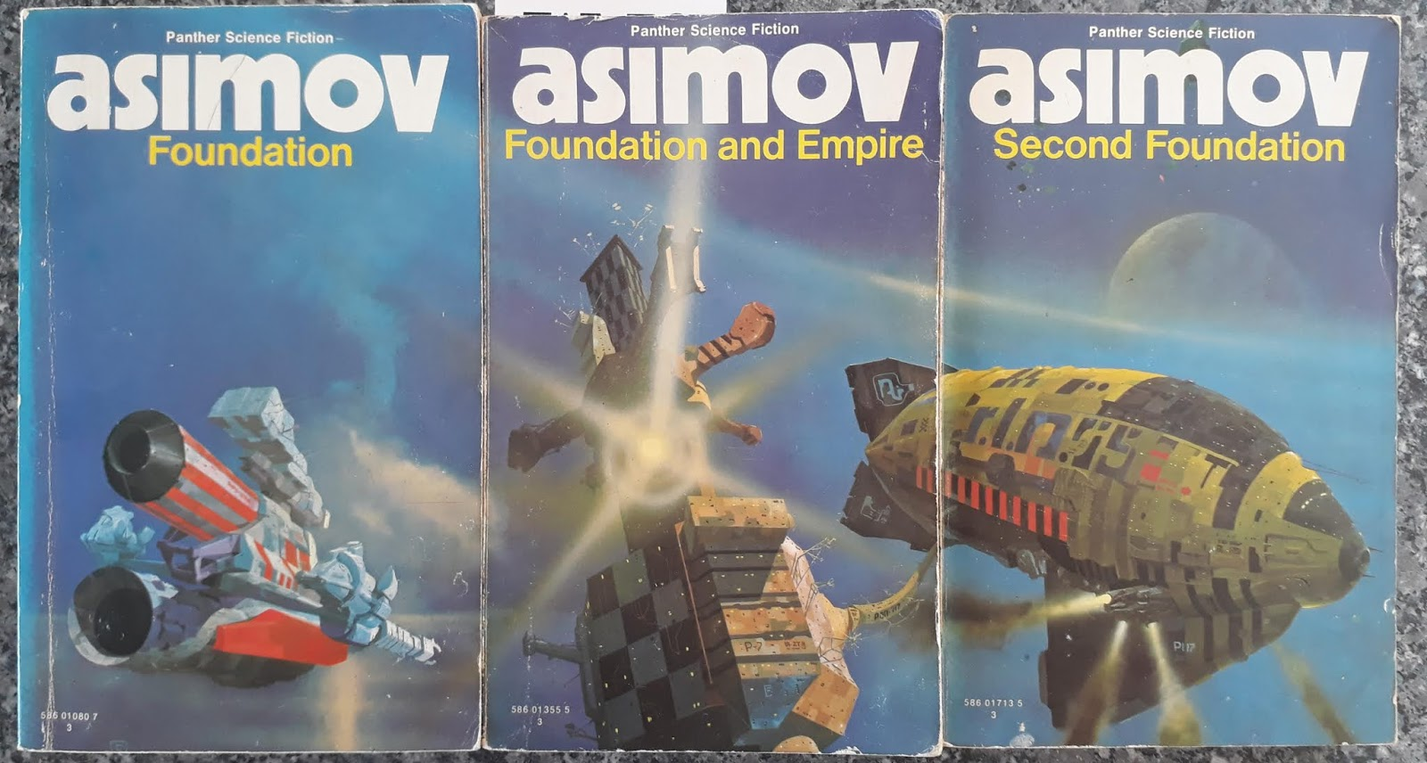 Foundation Trilogy, Isaac Asimov, Books, Science Fiction